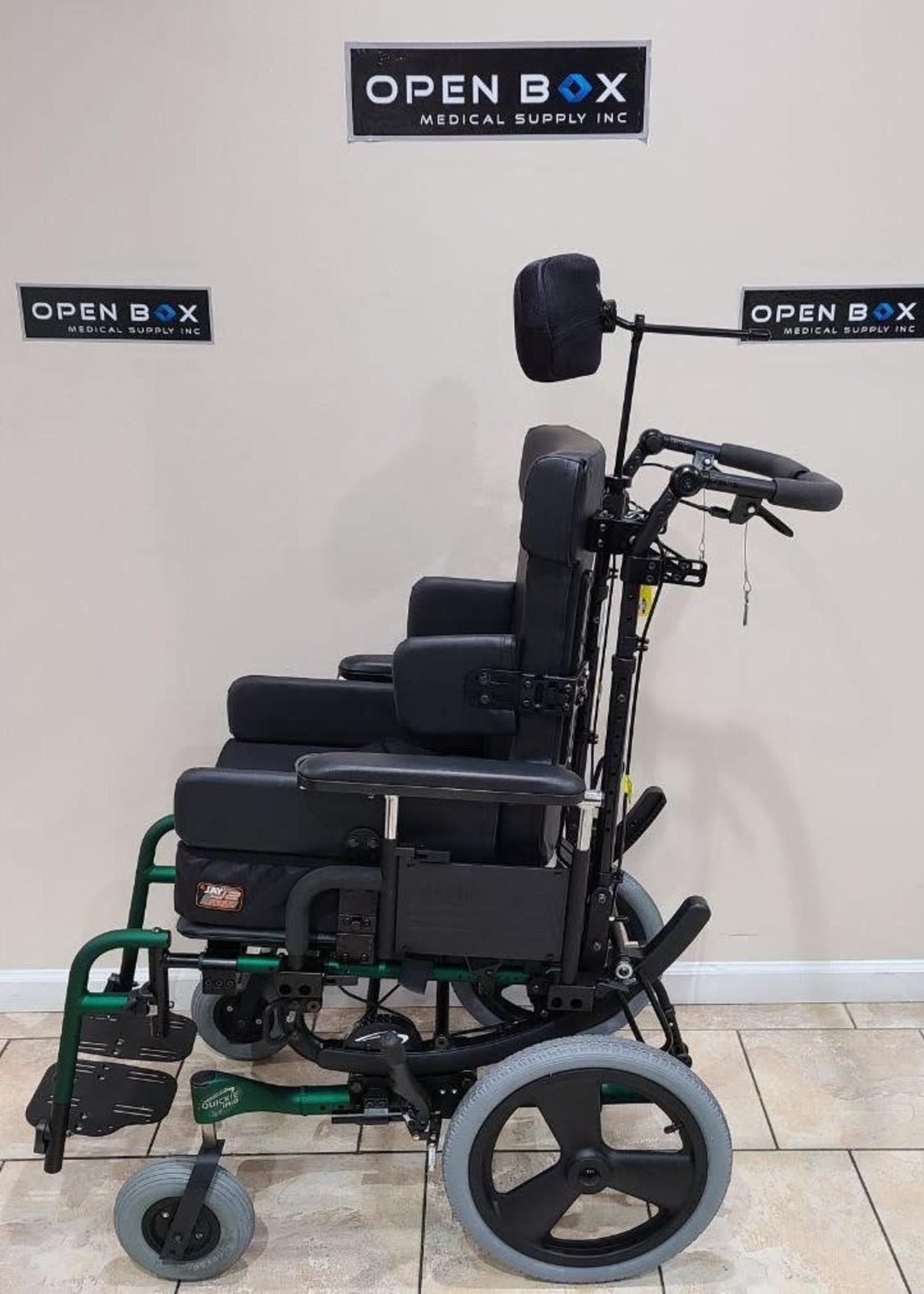 Sunrise Medical Quickie IRIS Tilt-in-Space Wheelchair (Used)