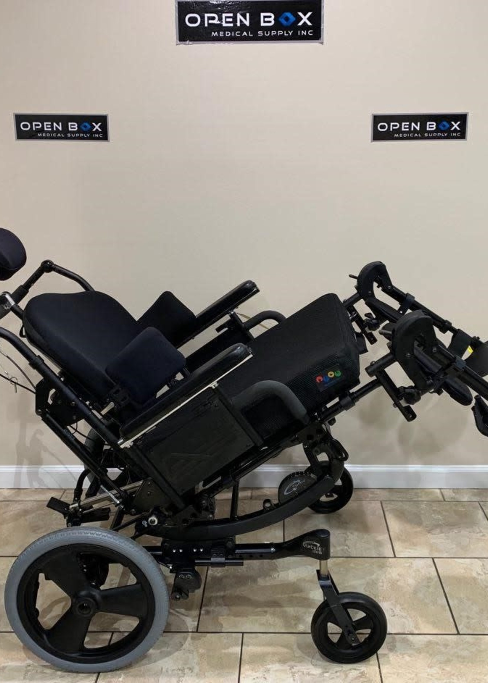 Sunrise Medical Quickie IRIS Power Tilt-in-Space Heavy Duty Manual Wheelchair (Used)