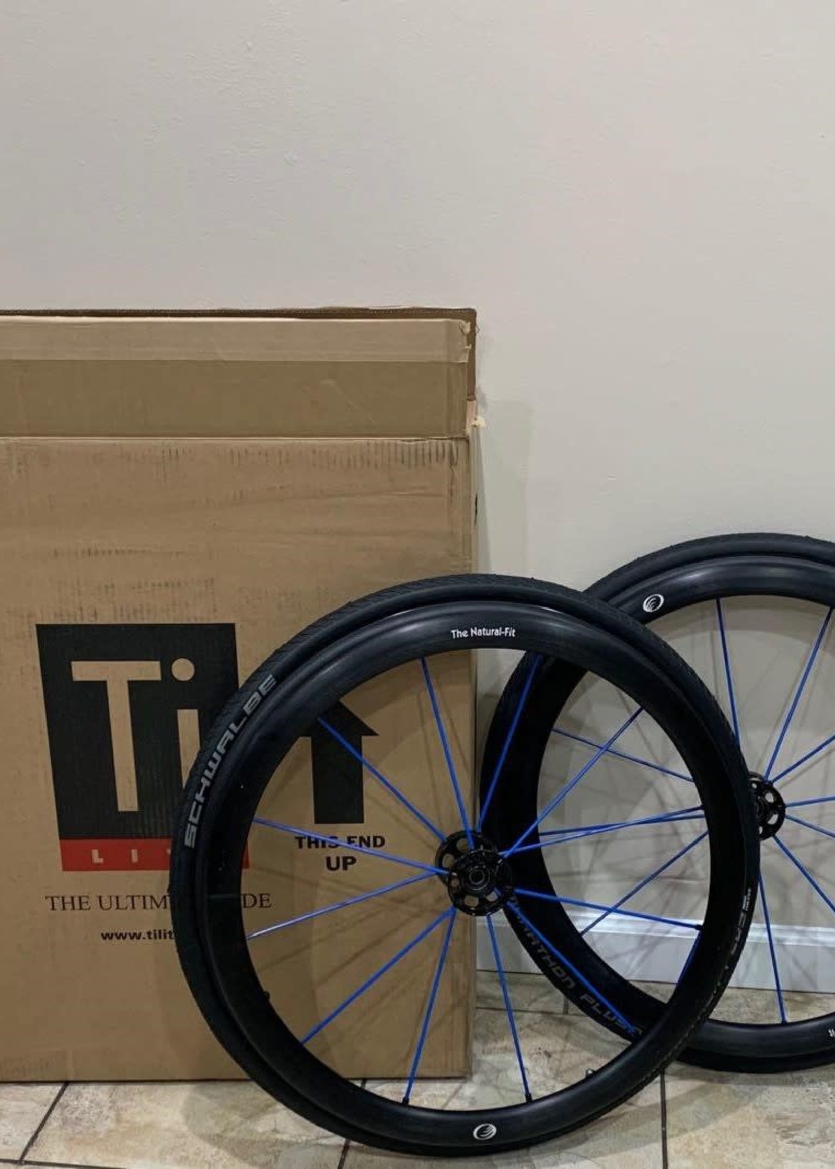 """Spinergy 25"""" Spinergy LX Wheelchair Wheels With Natural Fit Push Rims"""