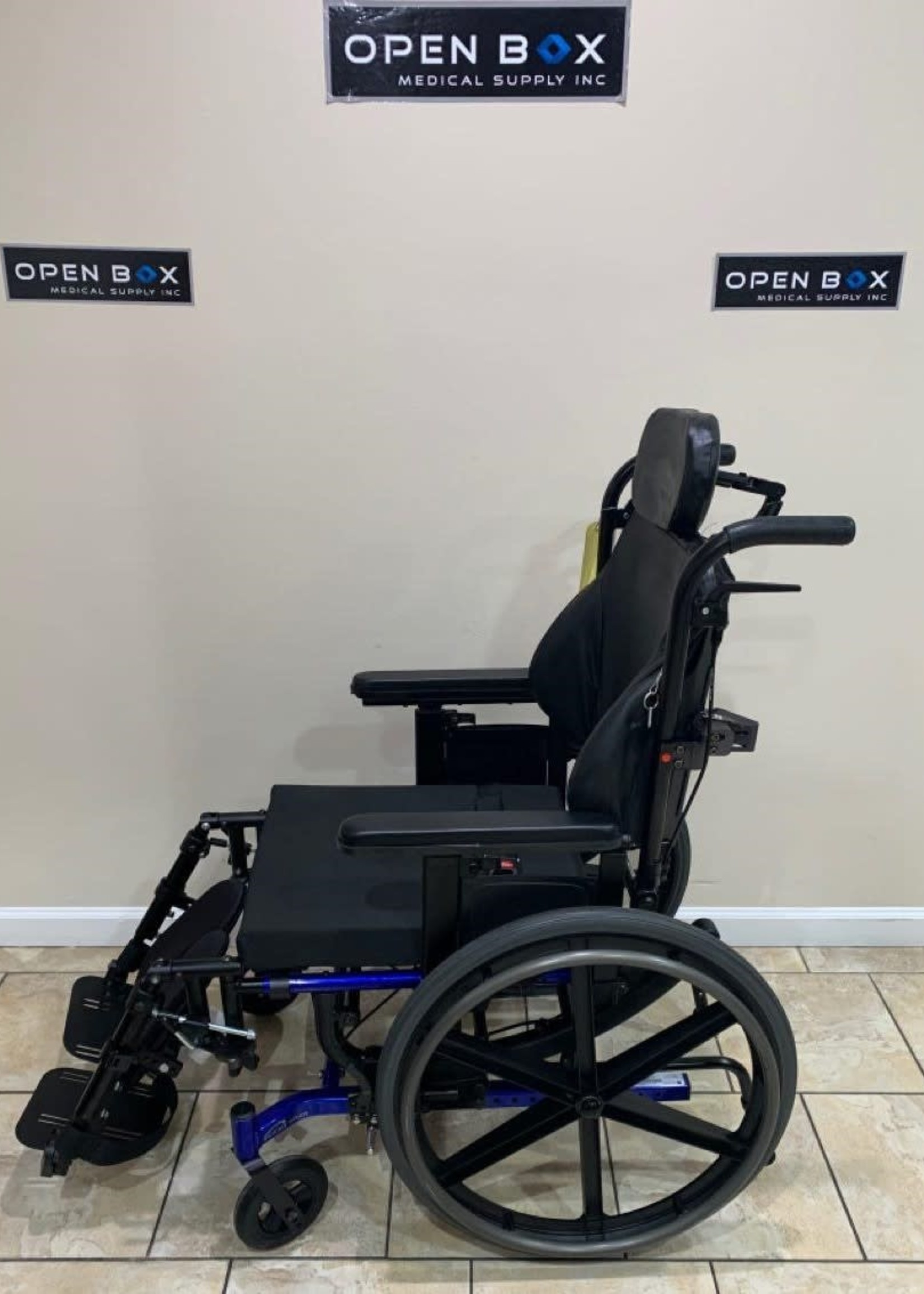 Sunrise Medical Quickie SR45 Tilt-in-Space Wheelchair (Used)