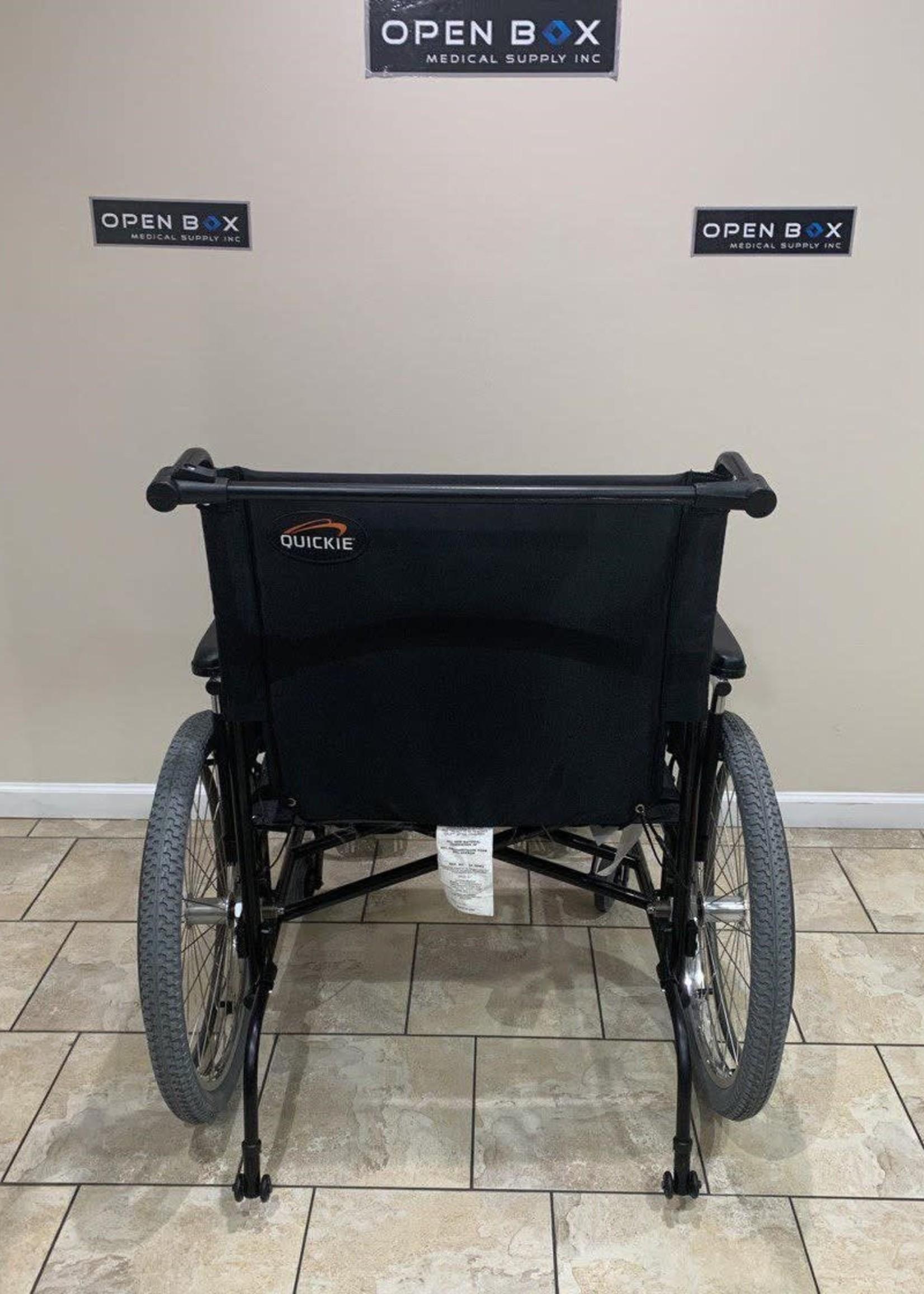 Sunrise Medical Quickie M6 Heavy Duty Folding Lightweight Wheelchair (Used)