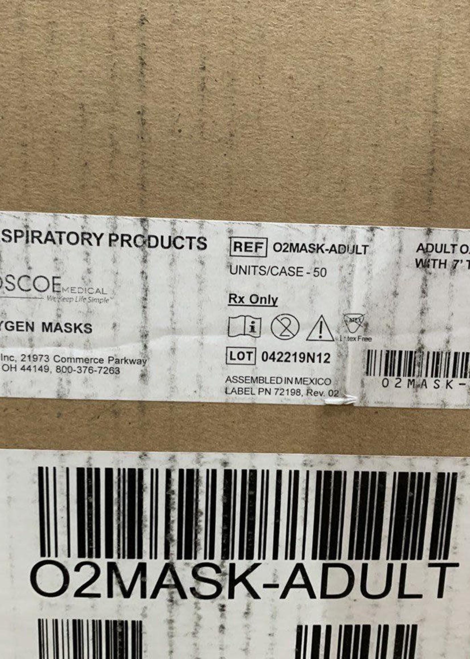 A Box of Adult Oxygen Masks
