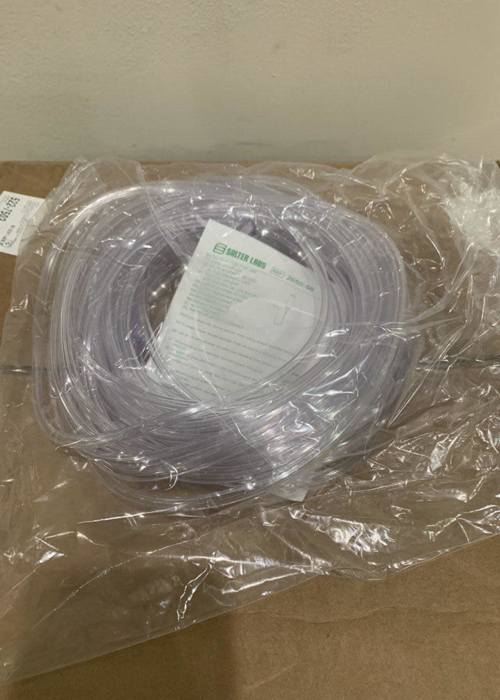 Box of Oxygen Tubing With 2 Connectors