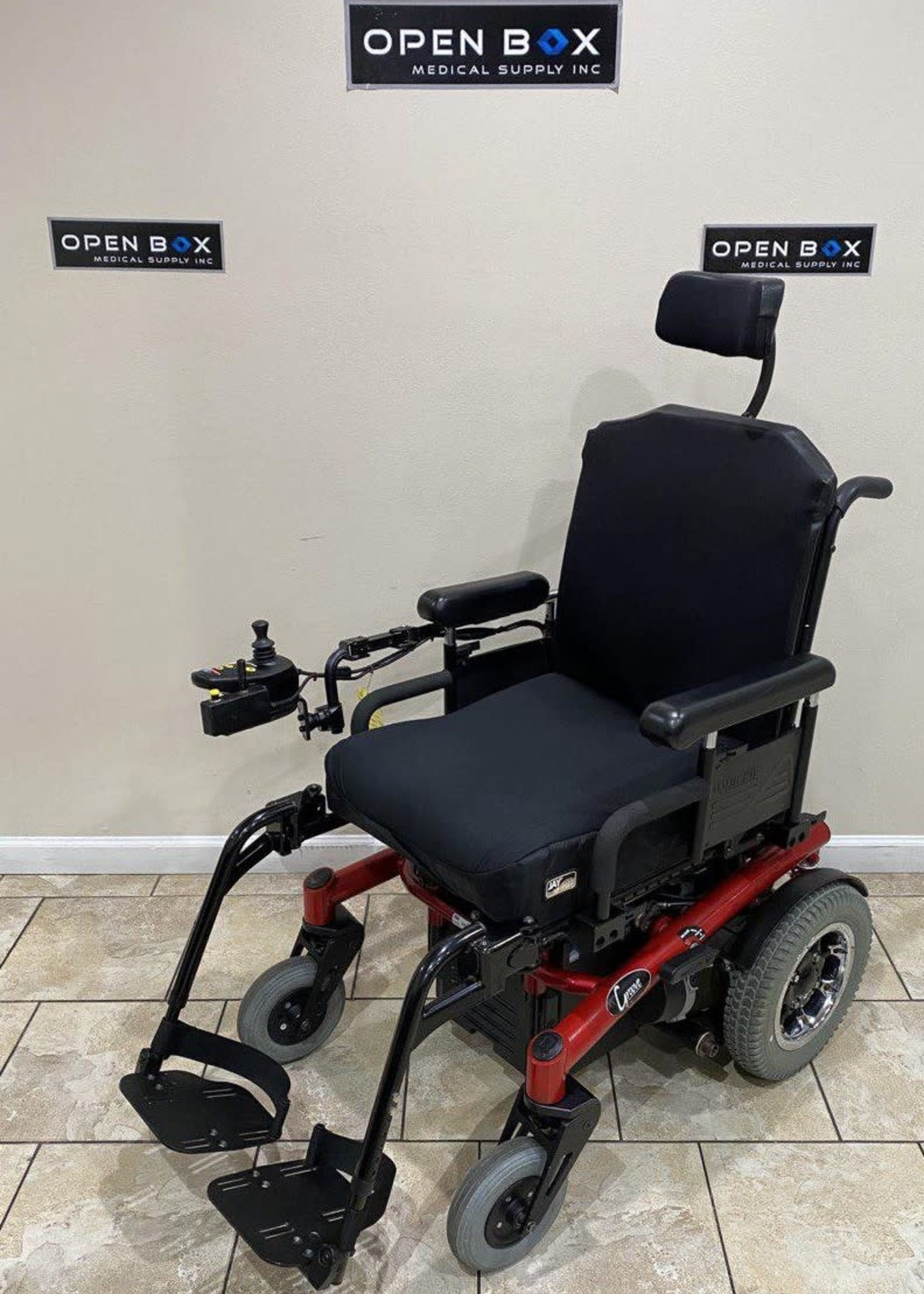 Sunrise Medical Quickie Groove Power Wheelchair (Used)