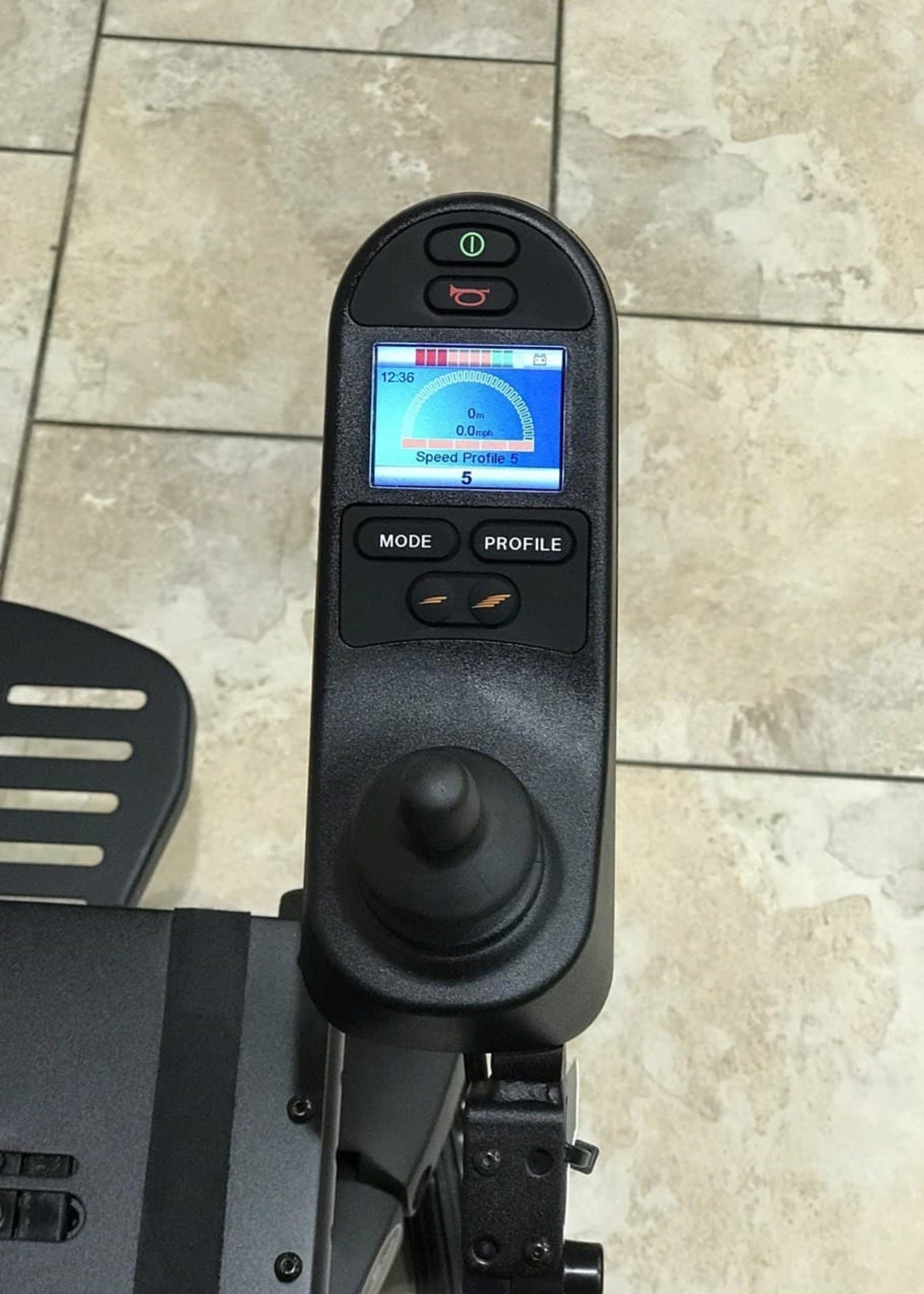 Sunrise Medical Quickie QM-715 with Electric Tilt (Used)