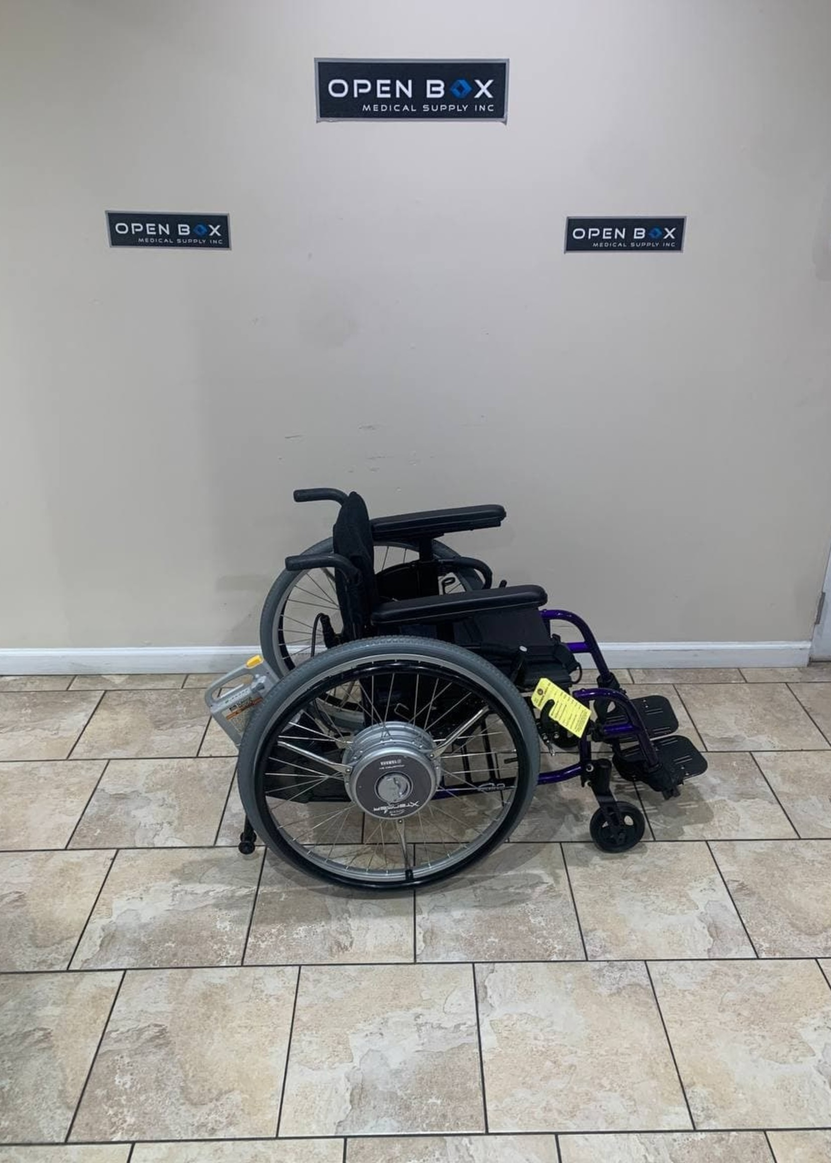 Sunrise Medical Quickie 2 Electric Assist Wheelchair (Used)