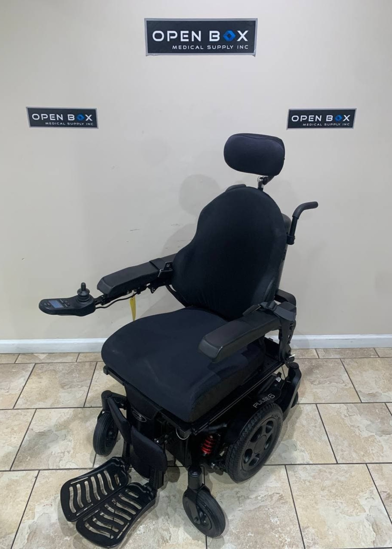 Sunrise Medical Quickie Pulse 6 Electric Wheelchair With Tilt And Leg Elevator (Used)