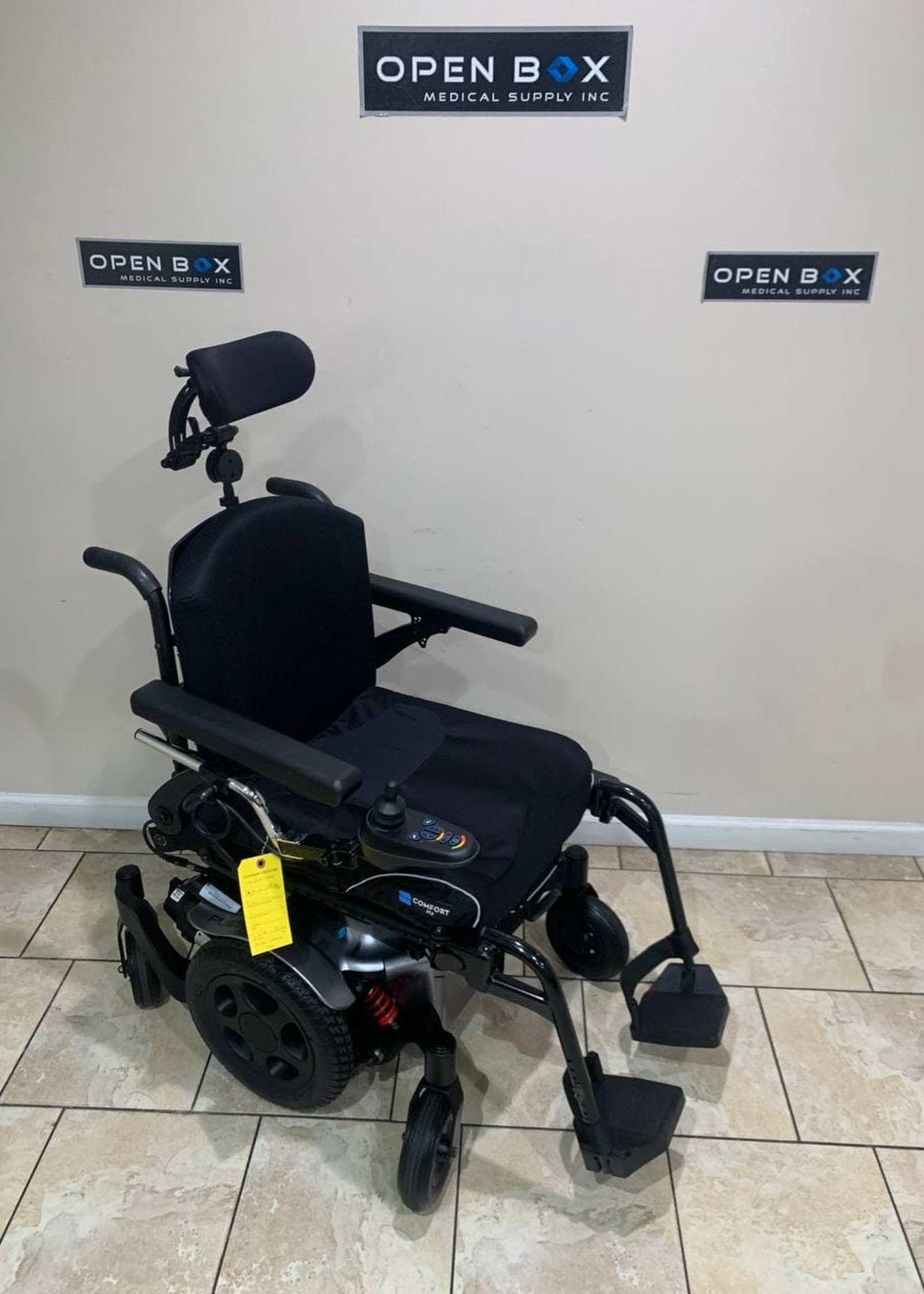 Sunrise Medical Quickie Pulse 6 Electric Wheelchair with Tilt (Used)