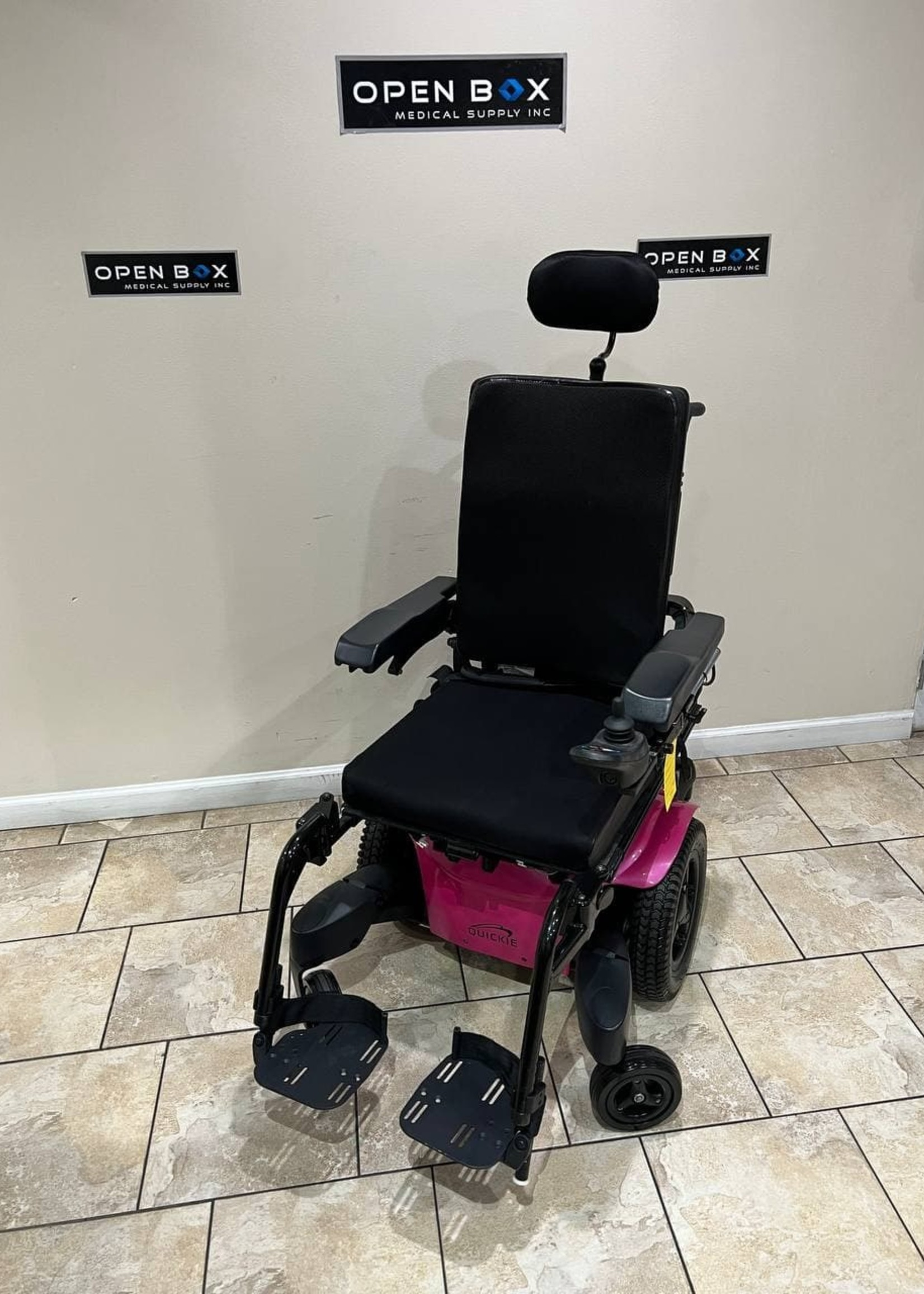Sunrise Medical Quickie 710A Electric Wheelchair with Tilt
