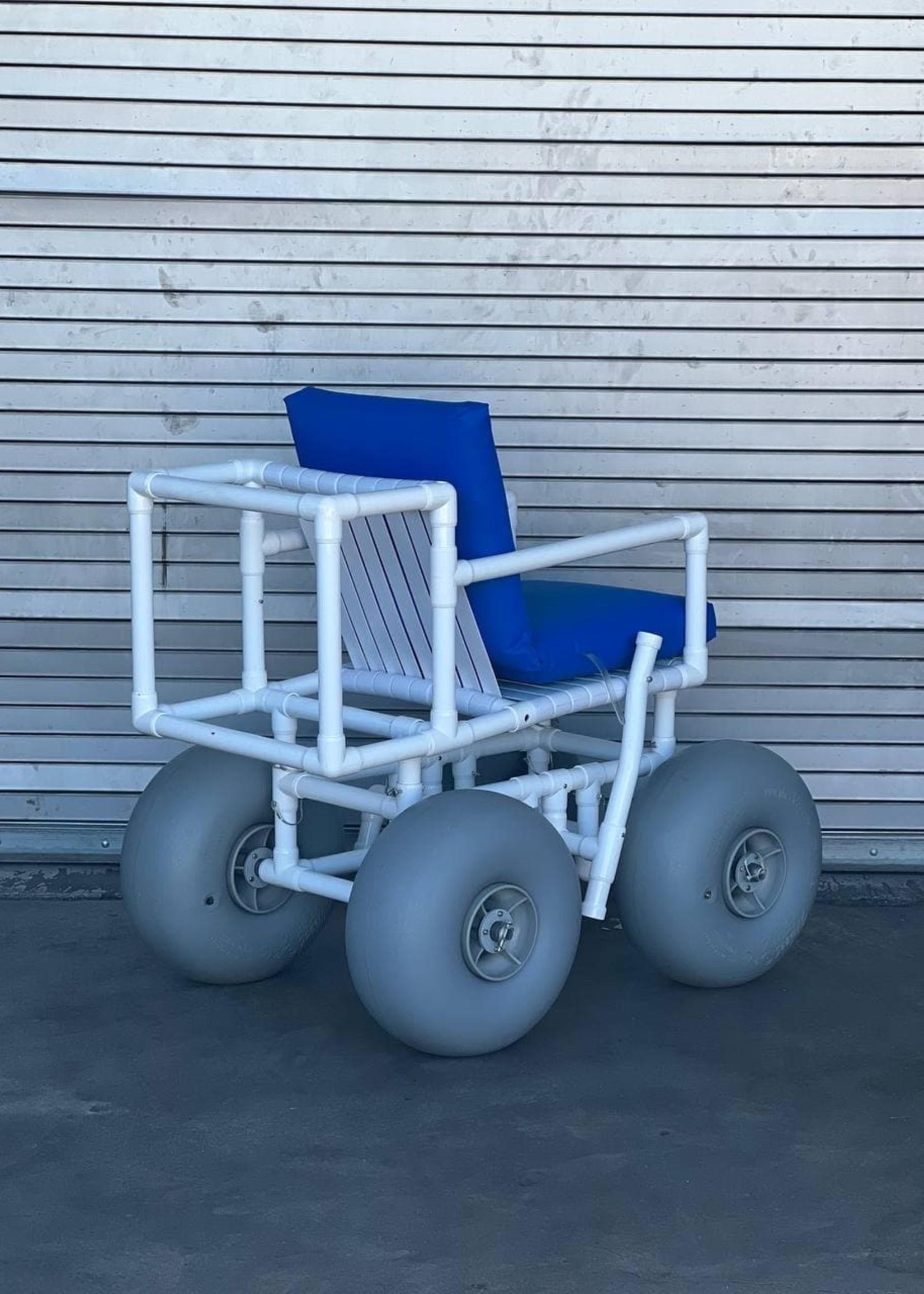 Healthline Medical All Terrain Beach Wheelchair  (Used)
