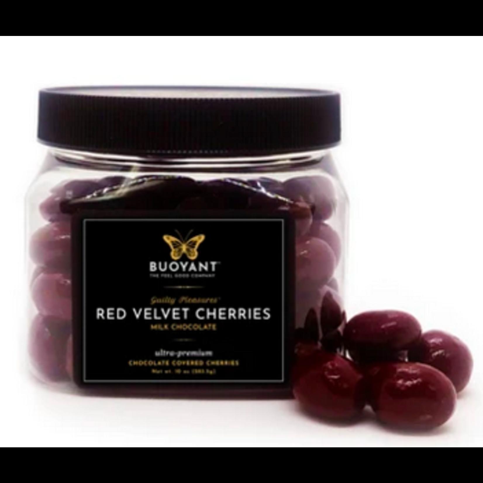 Buoyant Brands Buoyant Red Velvet Cherries - Milk Chocolate