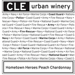 CLE Urban Winery CLE Urban Winery Hometown Heroes Peach Chardonnay Cleveland, Ohio