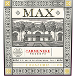 Errazuriz Errazuriz Max Reserva Carmenere 2019  Aconcagua, Chile  92pts-JS