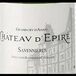 Chateau D'Epire Chateau D'Epire Savennieres 2019  Loire, France