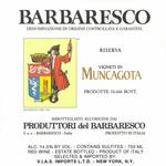 Produttori del Barbaresco Produttori del Barbaresco Muncagota Reserva Barbaresco 2016  Piedmont, Italy  94pts-V