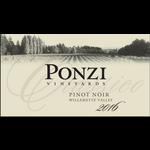 Ponzi Vineyards Ponzi Vineyards Pinot Noir Classico 2016  375ml  Willamette Valley, Oregon  92pts-WS