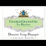Albert Bichot Albert Bichot Domaine Long-Depaquit Chablis Grand Cru Les Blanchots Blanc 2019  Burgundy, France  95pts-D