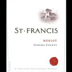 St. Frtancis Merlot 2018  Sonoma, California