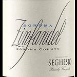 Seghesio Family Vineyards Seghesio Zinfandel Sonoma 2019  Sonoma, California