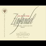 Seghesio Family Vineyards Seghesio Old Vine Zinfandel 2017  Sonoma, California