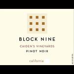 Block Nine Block Nine Caiden's Vineyards Pinot Noir 2019  Napa, California