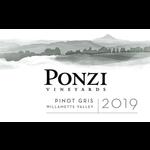 Ponzi Vineyards Ponzi Vineyards Pinot Gris 2019  Willamette Valley, Oregon