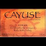 Cayuse Vineyards Cayuse En Chamberlin Vineyard Syrah 2018  Walla Walla Valley, Washington