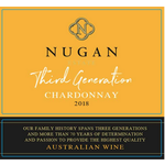 Nugan Estate Nugan Estate Third Generation Chardonnay 2018  Australia