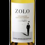 Zolo Wines Zolo Unoaked Chardonnay Sustainably Farmed 2020  Mendoza, Argentina