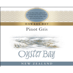 Oyster Bay Wines Oyster Bay Pinot Gris 2020 Hawkes Bay, New Zealand
