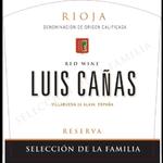 Bodega Luis Cañas Luis Canas Reserva Seleccion de la Familia 2014 Rioja, Spain 91pts-JS