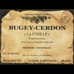 """Catherine et Patrick Bottex Patrick Bottex """"La Cueille"""" Bugey Cerdon Rose NV Bugey, France"""