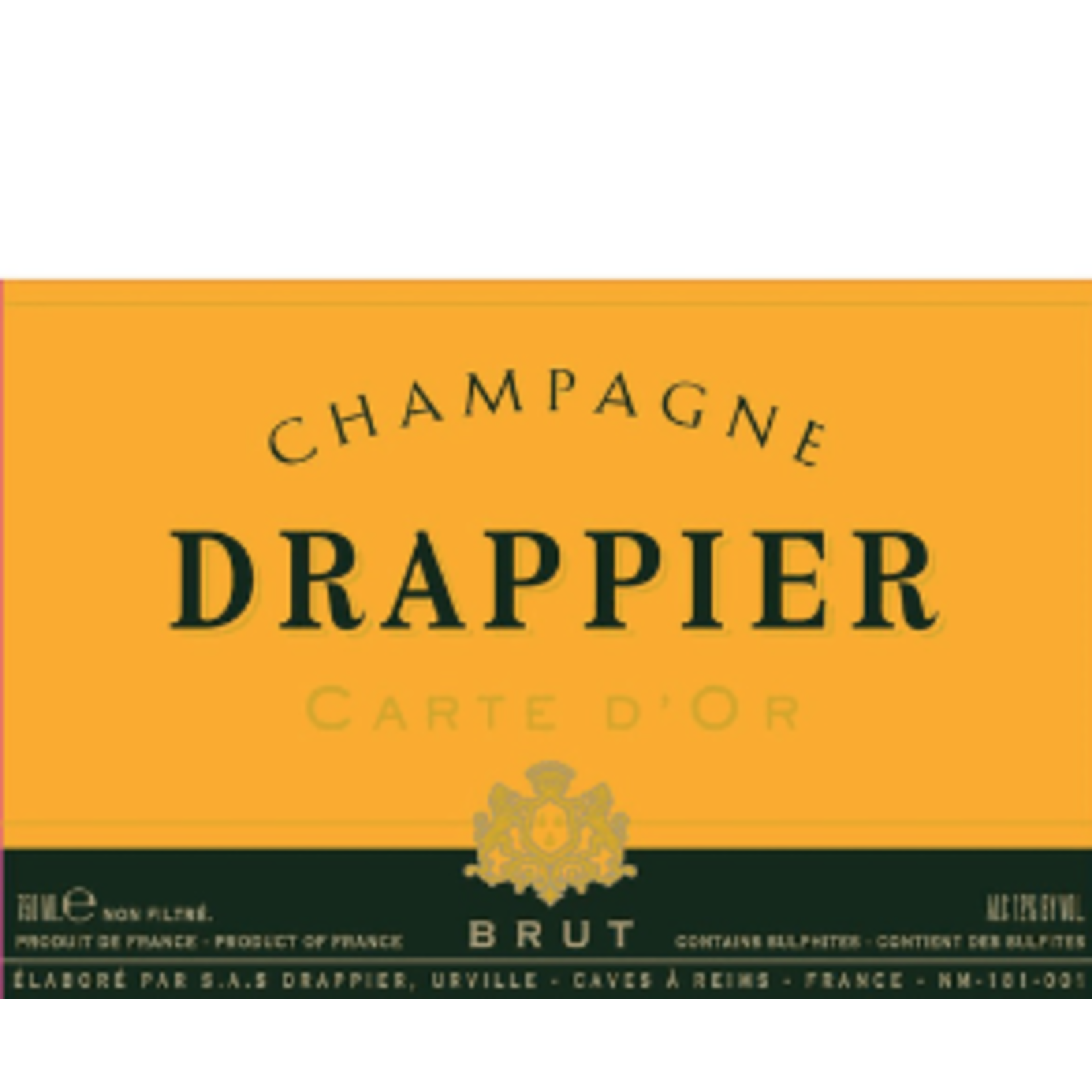 Drappier Drappier Carte D' Or Brut Champagne  375ml Champagne, France 90pts-WS