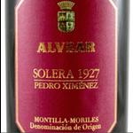 Montilla-Moriles Alvear Pedro Ximenez Solera 1927     375ml WA 96pts.
