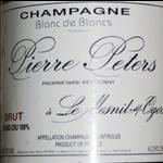 """Pierre Péters Pierre Peters """"Cuvée de Réserve"""" Blanc de Blancs Grand Cru Brut Champagne Champagne, France 90pts-WS"""