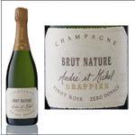 Drappier Drappier Brut Nature Zero Dosage  Non-Vintage Sparkling Wine Champagne, France  92pts-WS, 91pts-WE, 91pts-JS