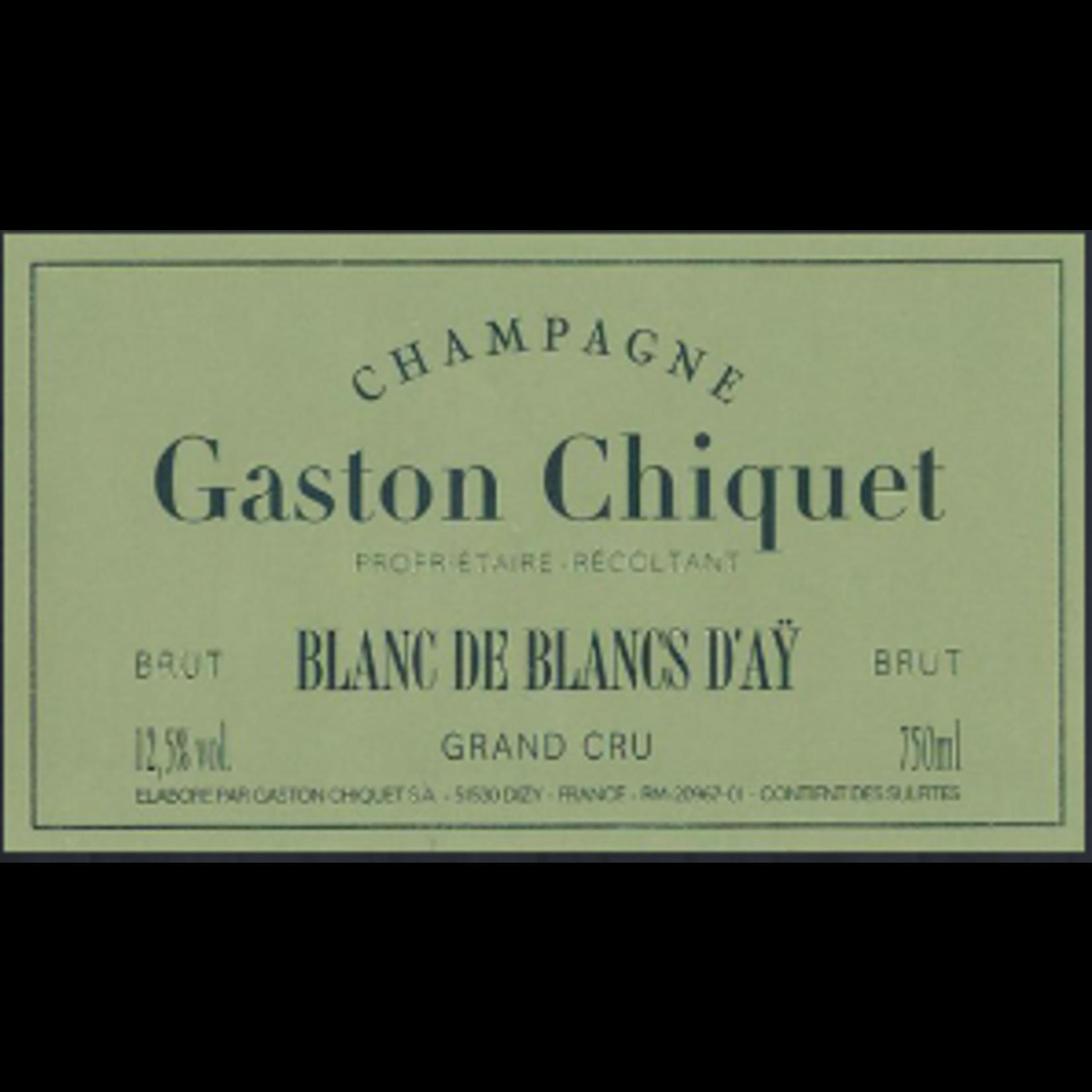 Gaston Chiquet Gaston Chiquet Blanc De Blanc D'Ay Grand Cru Champagne Champagne, France