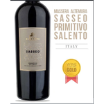 Masseria Altemura Masseria Altemura Sasseo Primitivo 2018 Salento, Southern Italy, Italy