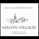 Henri Perrusset Henri  Perrusset Macon-Villages 2018  Burgundy, France