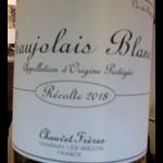 Chauvet Frères Chauvet Freres Beaujolais Blanc 2018 Beaujolais, France