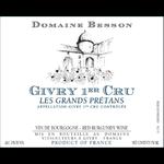 Domaine Besson Domaine Besson Givry 1er Cru Le Petit Prétan 2017 Burgundy, France