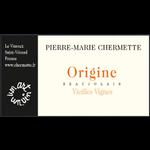 Pierre-Marie Chermette Pierre-Marie Chermette Origine Vieilles Vignes Beaujolais 2018 Beaujolais, France