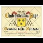 Domaine de la Solitude Domaine de la Solitude Chateauneuf-Du-Pape Rouge 2019 Rhone, France