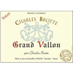 Charles Brotte Maison Charles Brotte Grand Vallon Syrah 2018 Vin de France, France