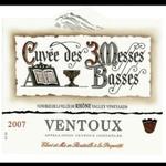 """Les Vignerons du Mont Ventoux Les Vignerons du Mont Ventoux Cotes du Ventoux """"Cuvée des 3 Messes Basses"""" Rouge 2017, Rhone, France"""