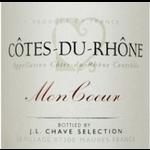 J. L. Chave Sélection J.L. Chave Mon Coeur Cote-Du-Rhone 2019 Rhone, France