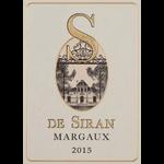 Château S De Siran Ch S De Siran Margaux 2018 Bordeaux, France 93pts-JS