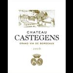 Chateau Castegens Ch Castegens Castillon Cote de Bordeaux 2016 Bordeaux, France