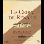 La Croix de Renaud La Croix de Renaud Rouge 2015 Bodeaux, France