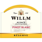 Willm Willm Reserve Pinot Blanc 2018 Alsace, France